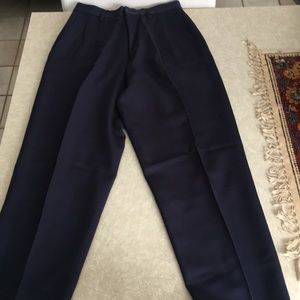 Banana Republic Black Wool Pants, Size 6